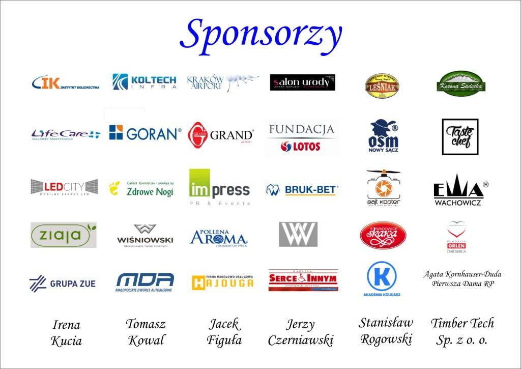 loga sponsorzy